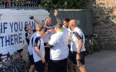 They did it! 500k Bike ride in less than 48 hours
